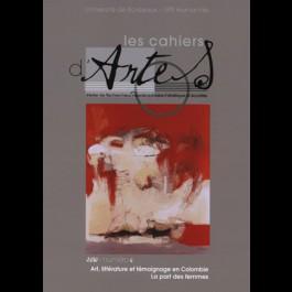 Art, littérature et témoignage, en Colombie. La part des femmes - Les Cahiers d'Artes n°6