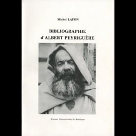 Bibliographie d'Albert Peyriguère