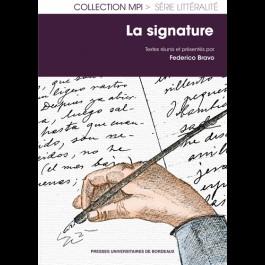L'écriture-signature : noms, anagrammes, cryptoymes