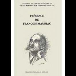 Présence de François Mauriac, 2e éd.