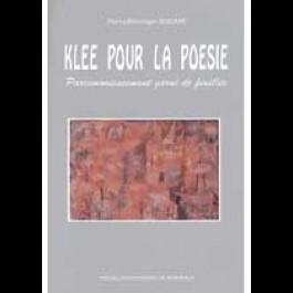 Klee pour la poésie. Parcimonieusement garni de feuilles