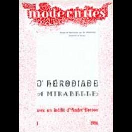 D'Hérodiade à Mirabelle – Modernités 1