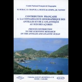 Contribution française à la connaissance géographique des Antilles et de l'Atlantique au sud des Açores, n° 15