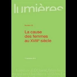 La cause des femmes au XVIIIe - Lumières 23