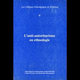 Anti-autoritarisme en ethnologie (L')