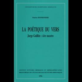 Poétique du vers (La). Jorge Guillén : Aire nuestro