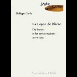 Leçon de Nérac (La). Du Bartas et les poètes occitans (1550-1650)