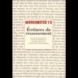 Écritures du ressassement –Modernités 15