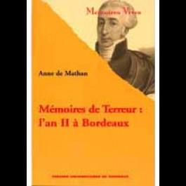 Mémoires de Terreur : l'an II à Bordeaux