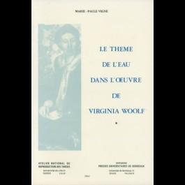 Thème de l'eau dans l'œuvre de Virginia Woolf (Le)