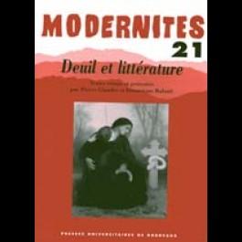 Deuil et littérature N° 21