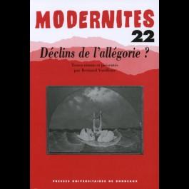 Déclins de l'allégorie ? – Modernités 22