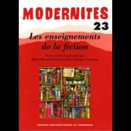 Les enseignements de la fiction – Modernités 23