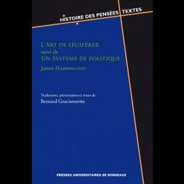 Art de légiférer suivi de Un Système de politique - James Harrington (L')