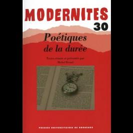 Poétiques de la durée - Modernités 30