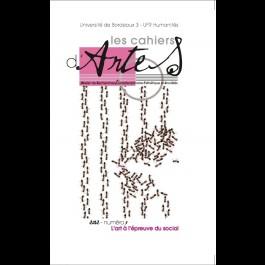 L'art à l'épreuve du social - Les Cahiers d'Artes n°9