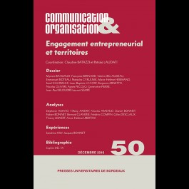 Engagement entrepreneurial et territoires - Communication & Organisation 50