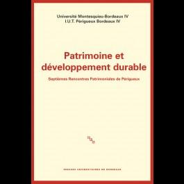 Patrimoine et développement durable