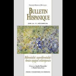 Bulletin Hispanique - Tome 116 - Décembre 2014 - N° 2