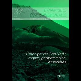 L'archipel du Cap-Vert : risques, géopatrimoine et sociétés - Dynamiques Environnementales 37
