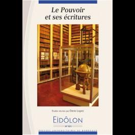 Eidôlon 101: Pouvoir et ses écritures (Le)