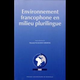 Analyse sociolinguistique de l'environnement audio-oral du français au Maroc - Article 13