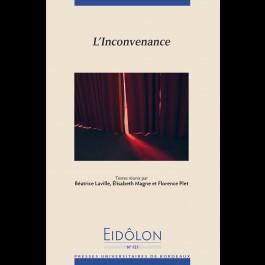 Eidôlon 121 - L'inconvenance