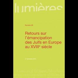 Retours sur l'émancipation des Juifs en Europe au XVIIIe siècle - Lumières 26