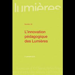 L'innovation pédagogique des Lumières - Lumières 32