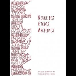 Revue des Études Anciennes - Tome 114 - 2012 - N°2