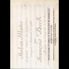 Stabat Mater à grand Chœur et Symphonie (Bordeaux 1782)
