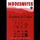 Écritures de l'objet – Modernités 9