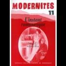 L'instant romanesque – Modernités 11