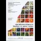 Archéomatériaux. Marbres et autres roches