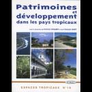 Patrimoines et développement dans les pays tropicaux, n° 18