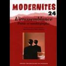 L'irressemblance. Poésie et autobiographie – Modernités 24