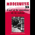 L'art et la question de la valeur – Modernités 25