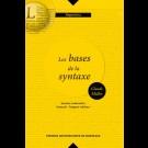 Bases de la syntaxe (Les). Syntaxe contrastive français-langues voisines