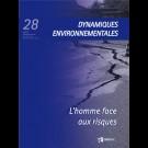 L'homme face aux risques - Dynamiques Environnementales 28
