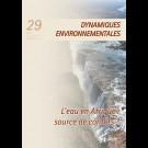 L'eau en Afrique: source de conflits? - Dynamiques Environnementales 29