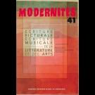 Écriture picturale et écriture musicale de la littérature et des arts - Modernités 41